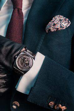 Mechanical Watch, Automatic Watch, Watches, Leather, Accessories, Beautiful, Collection, Fashion, Moda