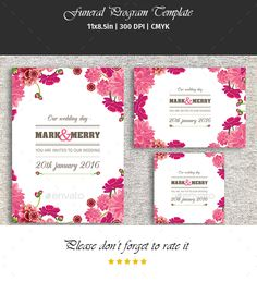Save The Date Template  Wedding Announcement Card  Photoshop Psd