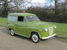 1955 Austin Van,very much like the one Wallace & Grommet have :) Classic Motors, Classic Cars, Austin Cars, Automobile, Mini Car, Veteran Car, Cool Vans, Morris, Birmingham