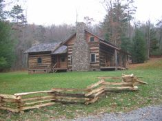 A restored antique log cabin - making the cabin homey