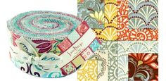 Kate Spain fabric. I love the different look of this collection.