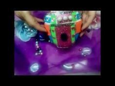 DIY Decorando envases vacios / Decorating empty containers