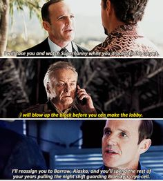 Don't mess with Phil Coulson.