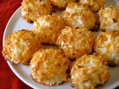 Paleo Coconut Macaroons Found on Elana's Pantry, you need to check out that site if you are Paleo!!