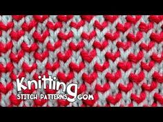 How to knit the Two-Color Pearl Brioche stitch. Use two double-point needles (or a circular needle). Follow along and see how easy it is to knit. ++ For deta...