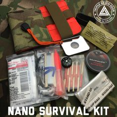 Triple 7 Gear released details of 2 new items today and restocked one of their best sellers. The new Nano Survival Kit (NSK) is a pre-assembled survival kit that is contained in the CORE Nano Adven…