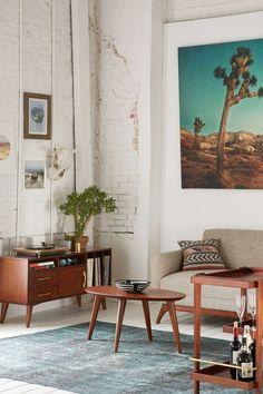 Industrial home decor, furniture, architecture