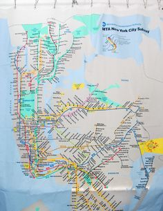 New York Subway Map New York City Subway Fantasy Map