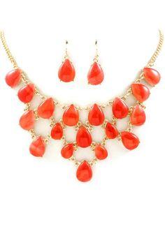 bright bib necklace