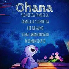 Ohana significa famiglia.... Lilo And Stitch Ohana, Disney Stitch, Stitch Tumblr, Wallpaper Quotes, Iphone Wallpaper, Italian Quotes, Instagram Story, Instagram Posts, Wordpress Theme