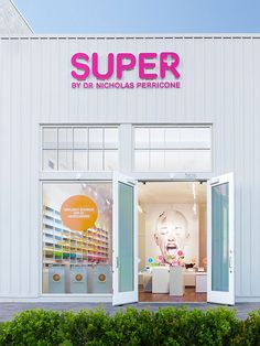 """""""SUPER by Dr. Nicholas Perricone"""" store by Janis Bell Design, Malibu » Retail Design Blog"""