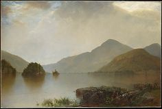 """Lake George,"" John Frederick Kensett (American, Oil on canvas. Metropolitan Museum of Art. Landscape Art, Landscape Paintings, Scenery Paintings, Floral Paintings, Mountain Paintings, Canvas Paintings, Canvas Art, Hudson River School Paintings, Painting Prints"