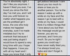 Anniversary text message to boyfriend