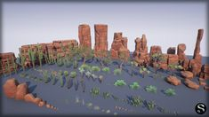 Red Desert Pack by SilverTm in Environments - UE4 Marketplace