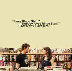 #500DaysofSummer #Movie #Quote #RingoStarr