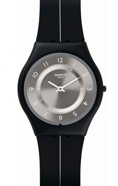 Reloj Swatch hombre My Silver black SFB145