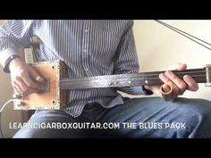 LearnCigarBoxGuitar.com - The Blues Pack sample lesson - Riffin' - YouTube