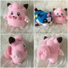 Clefairy (with pattern) by HerOnceWhiteWings on @DeviantArt