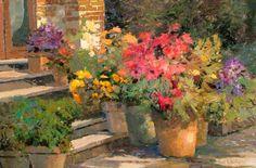Warm Impressionism in Kent Wallis Paintings