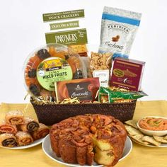 Our most popular sympathy and Shiva gift basket