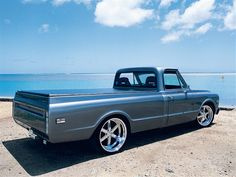 Read about the rebuild of this 1968 Chevy Pickup - Classic Trucks Magazine Vintage Chevy Trucks, 67 72 Chevy Truck, Custom Chevy Trucks, C10 Trucks, Lifted Chevy Trucks, Classic Chevy Trucks, Chevy C10, Chevy Pickups, Chevrolet Trucks