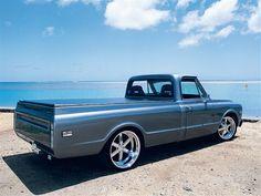 1968 Chevy Longbed Pickup - Island Cruiser - Custom Classic Trucks Magazine