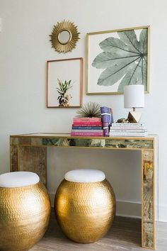 Console table with a