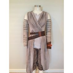 Custom Rey Star Wars Sash The Force Awakens (draping only) Costume... ($49) ❤ liked on Polyvore featuring costumes, star wars costumes, star wars halloween costumes and sash belt