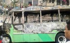 #DESTACADAS:  Agresores bajaron a pasajeros antes de incendiar camión en Cuautepec - El Universal