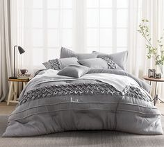 Tempo King Comforter Bed Linens Textured King Comforters