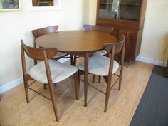 Mcm Mix Dining Room On Pinterest Mid Century Chairs And