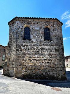Chapelle romane à Montagny - Rhône by Vaxjo, via Flickr