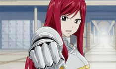 Fairy Tail Erza requip gif | Erza Scarlet* - Fairy Tail Photo (36642644) - Fanpop