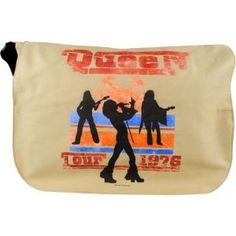 Queen messenger bag... WANT