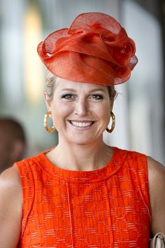 Queen Máxima, September 2, 2013 in Fabienne Delvigne I The Royal Hats Blog
