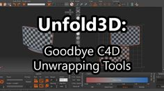 In this tutorial i show you the reasons why i have left Cinema 4D's UV tools behind and have made the awesome Unfold3D part of my workflow.