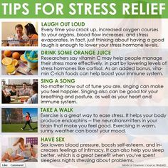 Tips for Stress Relief. Relieve your #Stress: http://www.pinterest.com/newdirectionsbh/relieve-your-stress/