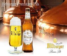 Bitburger Premium Pils. This was my first adult beverage. Bitte ein Bit!
