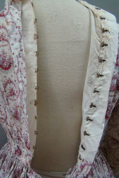 Darling 1860's Work Day Dress Summer Sheer | eBay