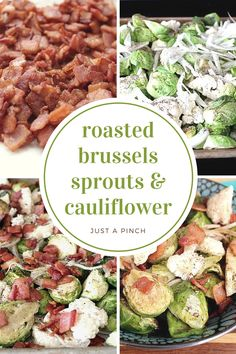 The Brussels sprouts and the cauliflower are cooked perfectly. This will be great served as a side dish at any dinner, especially the holidays. Family tested & approved!