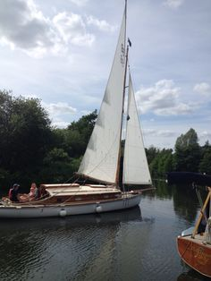 Norfolk Broads yachting