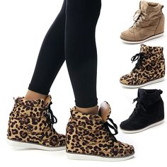 nike leopard high top sneakers