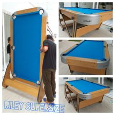 Mini Folding Pool Table Look Whats For Sale On Internet - Fold up pool table full size