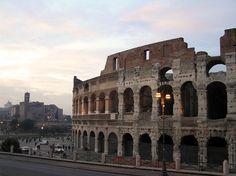 Vista del Colosseo, desde Via Labicana - Portal Fuenterrebollo