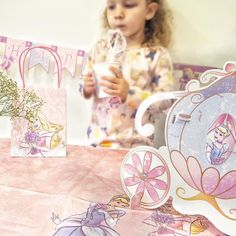 Pops and I had a little tea party this afternoon! She loves everything Disney Princess at the moment. Check out the new Disney Party Store it's a one-stop destination for parents to be inspired plan their party and purchase a selection of Disney Marvel and Star Wars products all designed to help parents plan an unforgettable party! #ad #DisneyParty @disneystoreuk