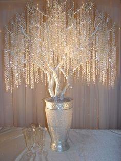 crystal wedding tree