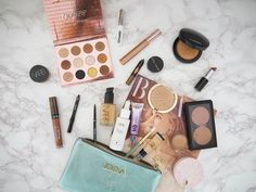 The Everyday Makeup Edit #11 | Jasmine Talks Beauty #bblogger #bbloggers #beauty #beautyblogger #makeup #makeupaddict #flatlay #discoverunder100k #ukblogger #makeupbag #fotd #zoeva #maccosmetics #colourpop #glossier #milani #eyeshadowpalette #liquidlipstick #ofracosmetics #renskincare #nars