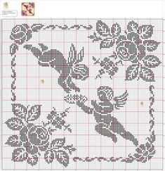 crochelinhasagulhas: crochê filé