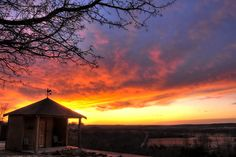 Sunset in Bartlesville - we have some incredible ones!