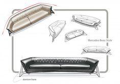 Mercedes-Benz comercializa una nueva línea de mobiliario